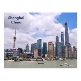 Annonce vintage de tourisme de voyage de Changhaï Carte Postale