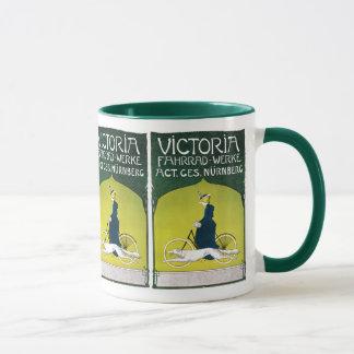 Annonce vintage pour des bicyclettes de Victoria Mug