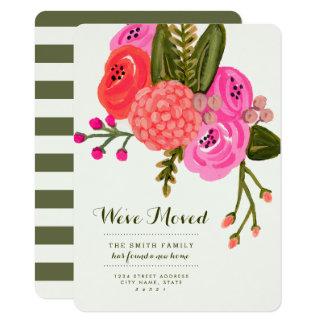 Annonces mobiles de jardin vintage carton d'invitation  11,43 cm x 15,87 cm