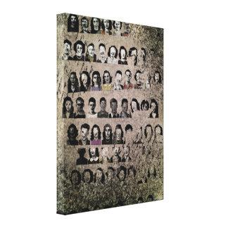 Annuaire - copie enveloppée de toile toile tendue sur châssis
