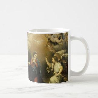 Annunctiation, tasse de beaux-arts
