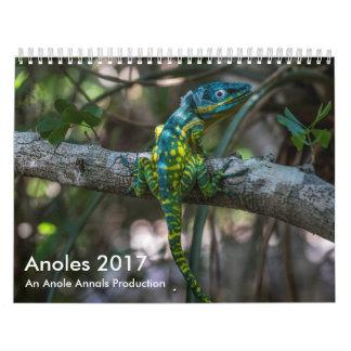 Anoles 2017 - Une production d'annales d'Anole Calendriers Muraux