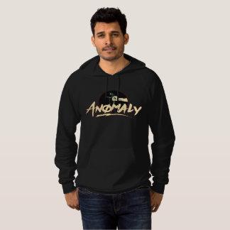 """""""Anomalie"""" du sweat - shirt à capuche de noir de"""
