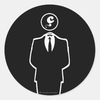 Anonymous / Les Hameçons Cibles / Sticker rond / N