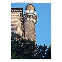 Antalya, le Yivili Minare (le minaret cannelé) Cartes De Vœux
