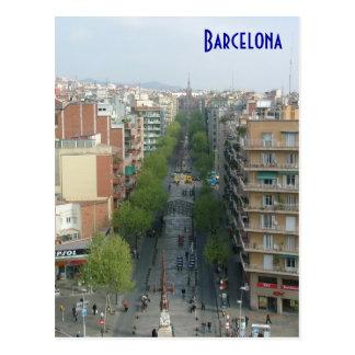 Antenne de Barcelone Carte Postale