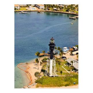 Antenne de phare de Hillsboro Carte Postale