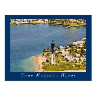 Antenne de phare de Hillsboro Cartes Postales
