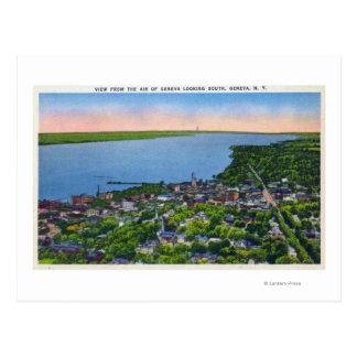 Antenne du sud de la ville carte postale