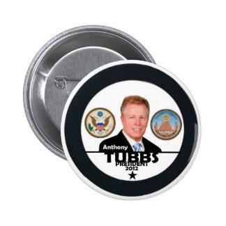 Anthony Tubbs pour le président 2012 Badge