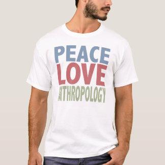 Anthropologie d'amour de paix t-shirt
