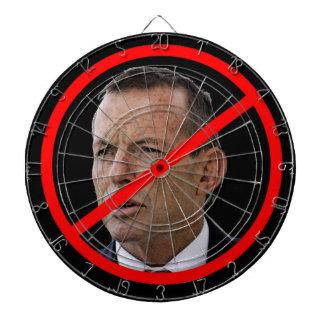 Anti abbé élégant. Chef politique australien Jeu De Fléchettes