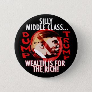 Anti-Atout idiot 2016 de classe moyenne Badge