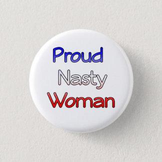 Anti-Atout méchant fier de bouton de femme Badge