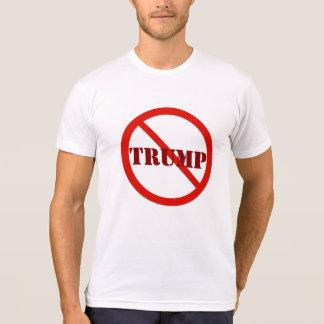 Anti-Atout rouge rond 2016 de Donald Trump d'arrêt T-shirt