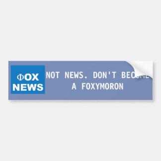 Anti autocollant de Fox News