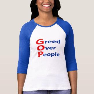 Anti avidité de GOP au-dessus de T-shirt de