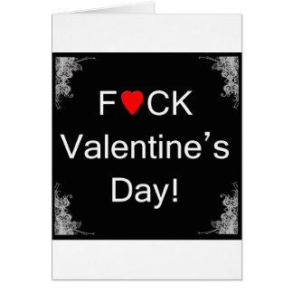 Anti carte de Saint-Valentin