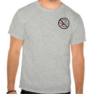 Anti-Dopage de soutien T-shirt