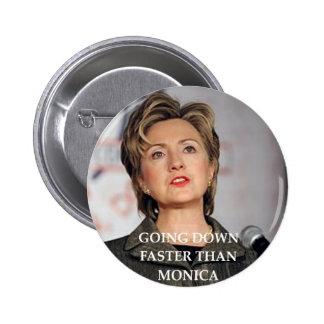 anti hillary Clinton Pin's