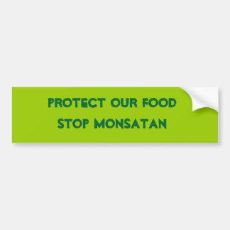 Anti Monsanto Autocollant De Voiture