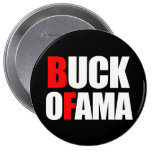 Anti-Obama - blanc du MÂLE OFAMA 2 Pin's Avec Agrafe