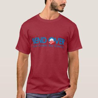 Anti-Obama - courbure plus de pour le changement T-shirt