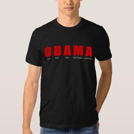 Anti-Obama - une grande erreur Amérique d'âne T-shirt