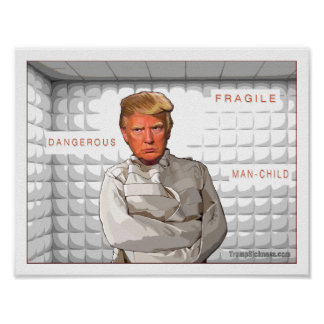 Anti peinture de Donald Trump dans une camisole de Poster