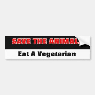 Anti-PETA adhésif pour pare-chocs Autocollant Pour Voiture
