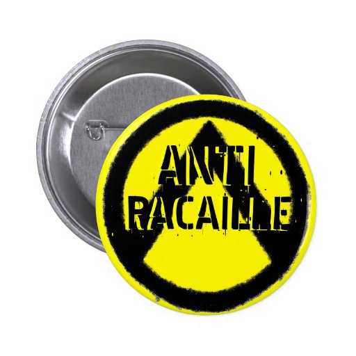 ANTI RACAILLE BADGES AVEC AGRAFE
