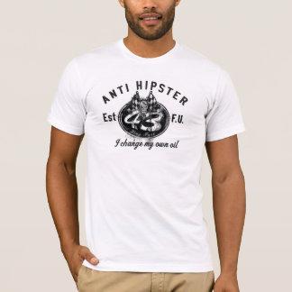 Anti T-shirt de changement d'huile de hippie