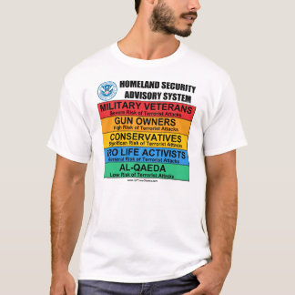 Anti T-shirts de sécurité de patrie