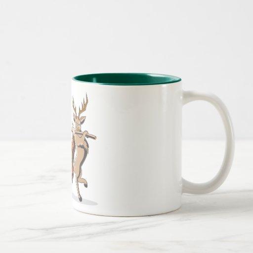 Anti vengeance d'animal de chasse tasse à café