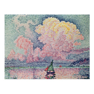 Antibes, Cloud rose, 1916 Carte Postale