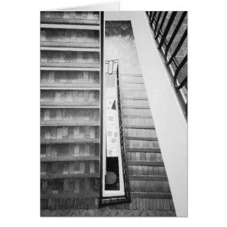 Antibes France, musée de Picasso d'escaliers Carte De Vœux