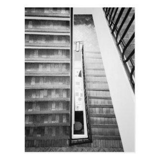 Antibes France, musée de Picasso d'escaliers Carte Postale