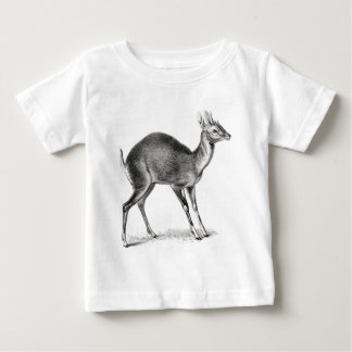 Antilope Quatre-À cornes T-shirt Pour Bébé