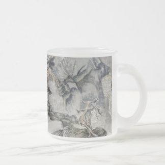 Antique art tasse à café
