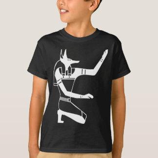 Anubis, hiéroglyphe égyptien t-shirt