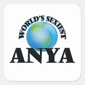 Anya le plus sexy du monde sticker carré