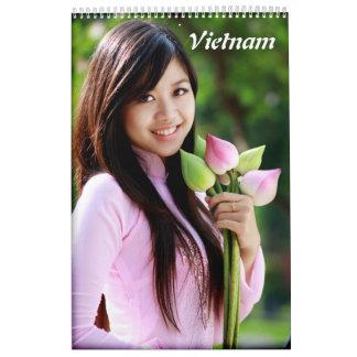Ao Dai Vietnam Calendriers