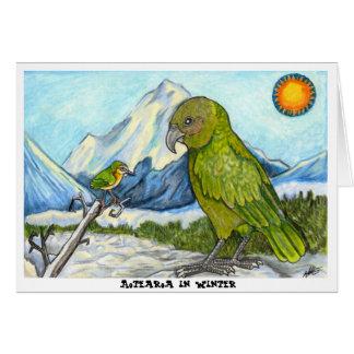 Aotearoa en hiver cartes