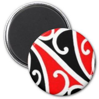 aotearoa maori magnet rond 8 cm