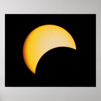 Août 2017 éclipse solaire poster