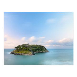 Aperçu d'île de San Nicolas, longue exposition Carte Postale