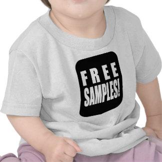 aperçus gratuits t-shirts
