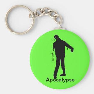Apocalypse de zombi porte-clés