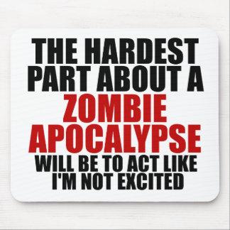 Apocalypse de zombi tapis de souris