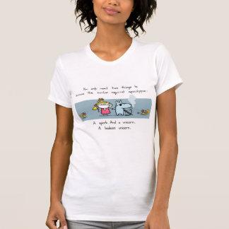 Apocalypse d'écureuil de zombi t-shirt